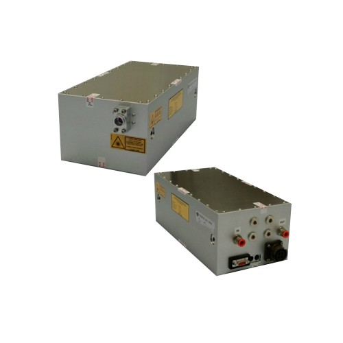 High-Peak Power DPSS Laser Source for Ranging & Atmospheric LIDAR