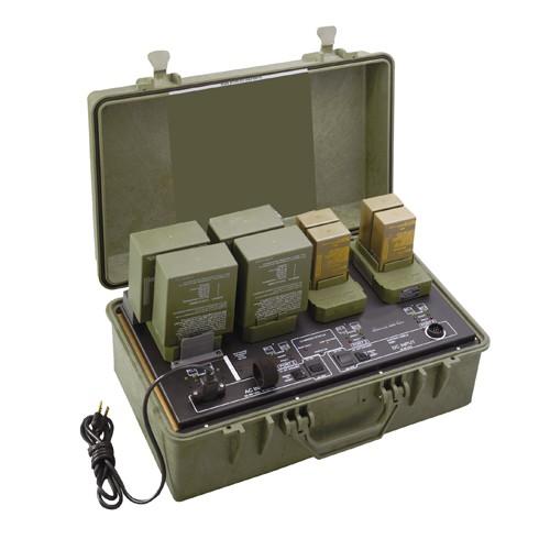 Military universal battery charging platform